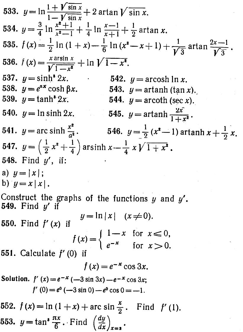 Calculus derivatives table pictures to pin on pinterest for Table of derivatives