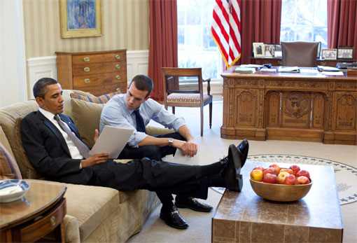 They All Show A Basic Disrespect For The White House And Its Furnishings!