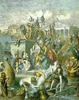 the life of theodoric the great king of the ostrogoths Theodoric was king of the ostro-goths in italy, and king (511) of the visigoths in spain  events in the life of theodoric the great amali birth   oved the .