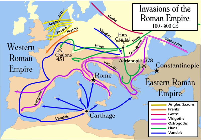 10 Dying Symptoms Of The Roman Empire