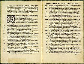 The Ninety-Five Theses - Wikipedia, the free encyclopedia